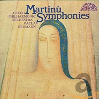 MARTINU:COMPLETE SYMS. [Audio CD] martinu
