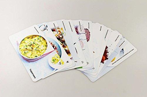 TUPPERWARE Rezeptkarten 12 Stück Rezeptideen Kochen Backen