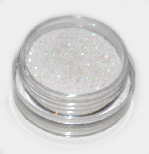 White Laser Eye Shadow Loose Glitter Dust Body Face Nail Art Party Shimmer Make-Up by Kiara H&B