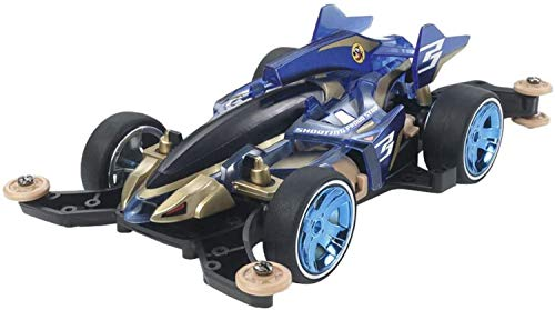 Tamiya Mini 4WD Item 95573 Shooting Proud Star Clear Blue MA Chassis