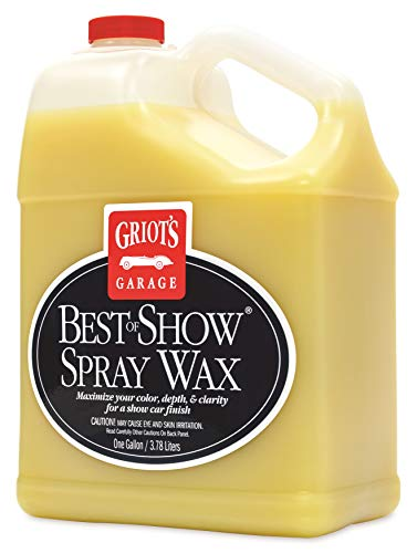 Griot's Garage 10969 Best of Show Spray on Wax Gallon, 1