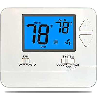 Suuwer SW701 Conventional (1H/1C) Non-Programmable Thermostat