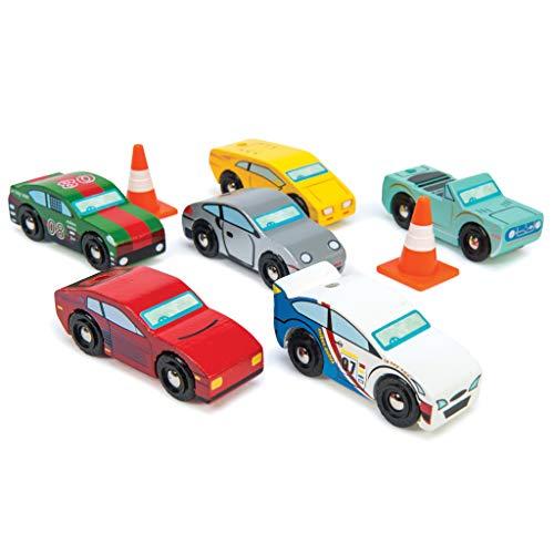 Le Toy Van - 12440 - Jouet Premier Age - Set Voitures de Sport de Montecarlo