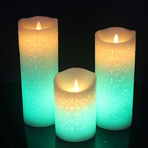 LUBINGT Candle NEW before selling Color Change Gradient 5% OFF Candles Control LED Remote