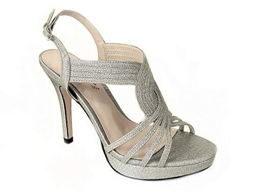 Sko's, Womens dames midden lage hoge hak strappy crossover partij bruiloft prom sandalen schoenen maat voor dames 23 EU