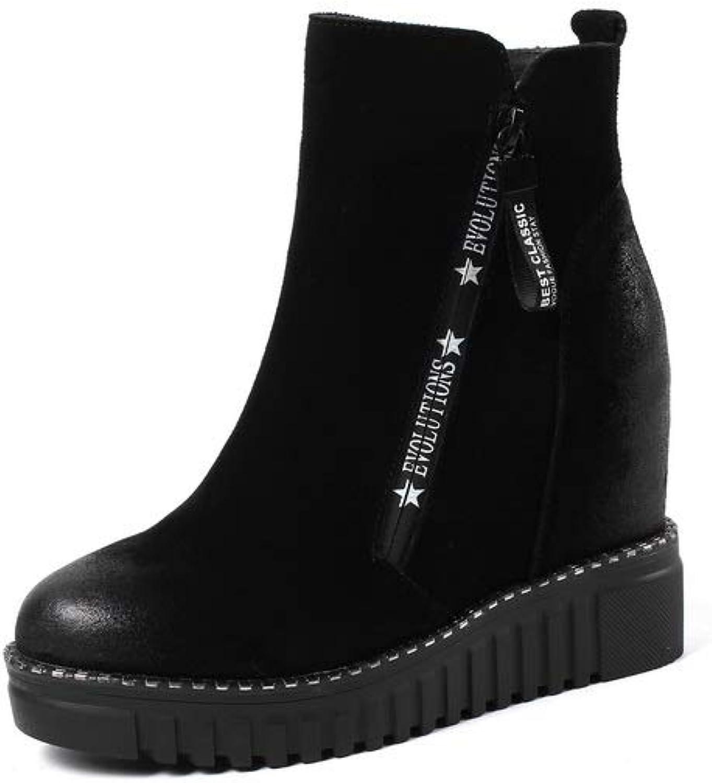 AdeeSu Womens Mule High-Heel Solid Leather Boots SXE05249