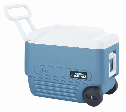 Igloo Max Wheeled Cooler 40 Qt Blue