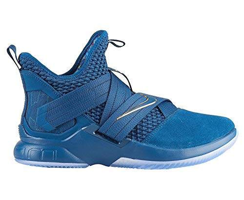 NIKE Lebron Soldier XII SFG Mens Ao4054-400 Size 8.5