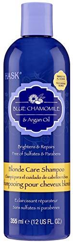 Hask Blue Chamomile & Argan Blonde Shampoo (Pack of 2)