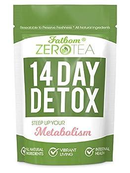 Zero Tea 14 Day Detox Tea Teatox Herbal Tea for Cleanse