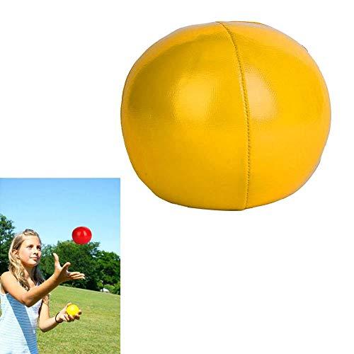 Alomejor Jonglierball Klassische Zirkusclown Jonglierbälle Lernen Sie Jonglieren Spielzeug(Gelb)