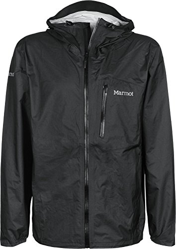 Marmot Herren Essence Jacket Hardshell Regenjacke, Black, S