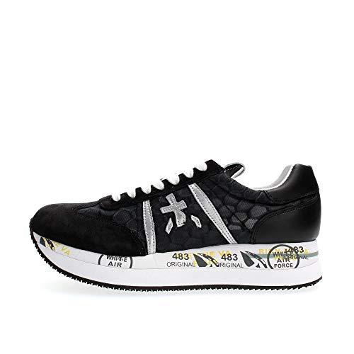 PREMIATA Sneakers Donna Conny Nero CONNY4620 39
