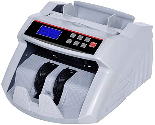 GOBBLER GB5388 Business-Grade Note Counting Machine with Fake Note Detection with Large LCD Display | Counts all New & Old Notes