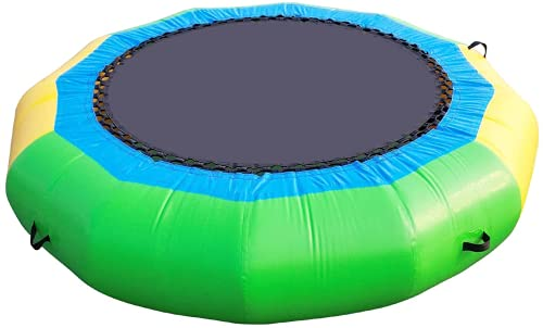UeeVii Water Trampoline for Lake, 10Ft Water Bouncer, Great Bounce for Kids, Easy to Set up and Store