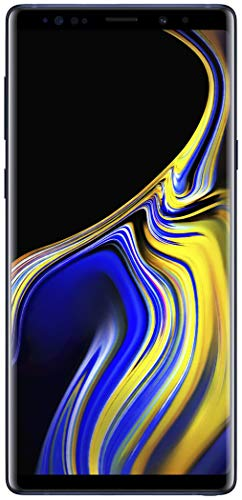 "Samsung Galaxy Note 9 Factory Unlocked Phone with 6.4"" Screen and 128GB (U.S. Warranty), Ocean Blue"