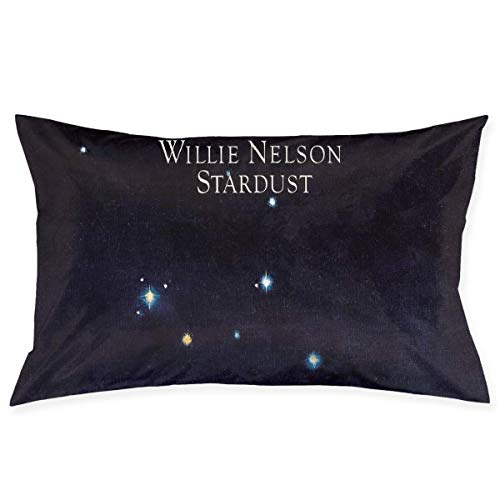 Willie Nelson Stardust Casual Home Decor Polyester Pillow Fundas para Almohada (50cmx75cm)