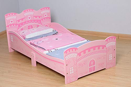 MCC Castle Princess Junior, Toddler, Kids Bed with Luxury Foam Mattress - Made in England