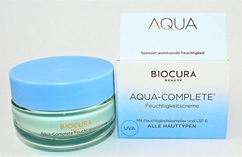 BIOCURA Beauty Feuchtigkeitscreme mit Hyaluronsäure und LSF 6 50 ml