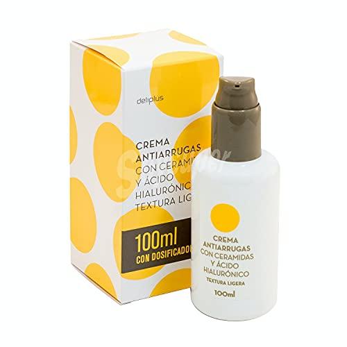 Crema Facial Antiarrugas Con Ceramidas y ácido hialurónico
