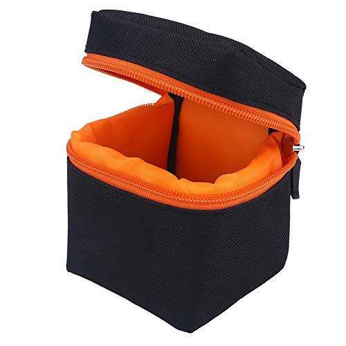 Protector de lente de cámara, 7 mm, acolchado grueso, bolsa protectora a prueba de golpes, funda protectora para cámara réflex digital