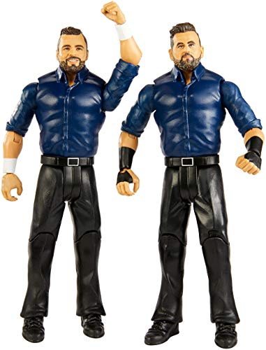 WWE Pack de 2 Figuras de acción Luchadores Sunil Singh™ & Samir Singh™ (Mattel GBN57)