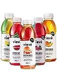 Vieve Agua con Proteína 10x500ml - Paquete de sabores mixtos. 20g de Proteína, Sin Azúcar, Sin Grasa y Sin Leche. Alternativa Lista para Beber a los Polvos y Batidos de Proteína
