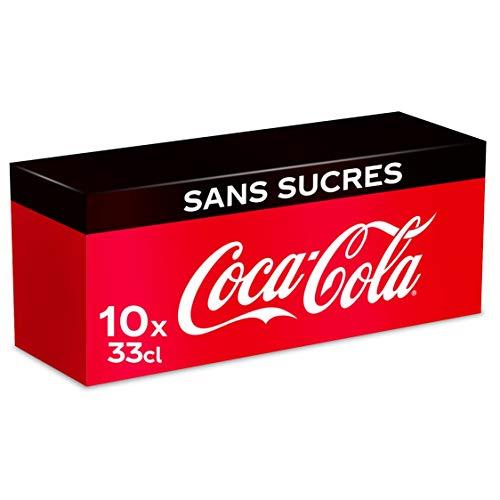 Coca-Cola Sans Sucres Boîte 33CL x 10