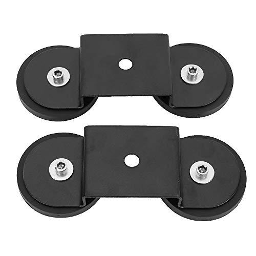 Base de luz magnética, soporte de montaje de barra de luz magnética universal robusto y duradero ventosa de soporte negro para SUV de automóvil