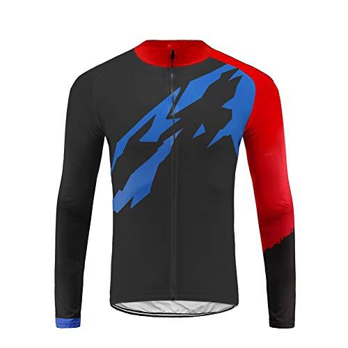 Uglyfrog CXHB08 - Maillot de ciclismo para hombre, de manga larga, para bicicleta de carretera, ideal para invierno, Hombre, color Color 35, tamaño Size XX-Large