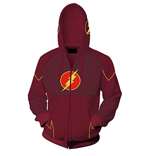 HPY Hero Hoodie Cosplay Costume Barry Sweatshirt Jacket Christmas Halloween,BL
