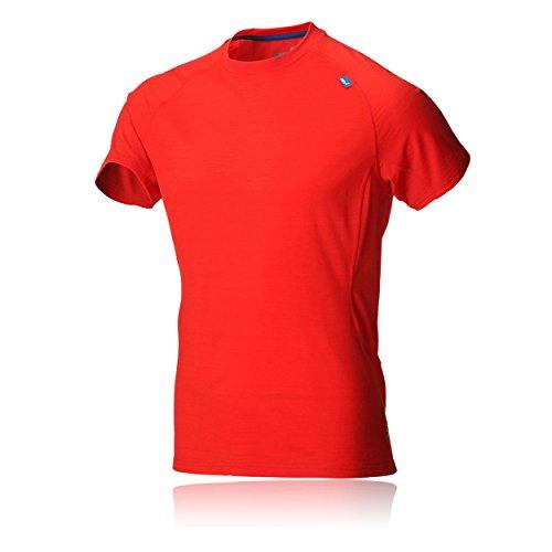 Inov-8 Base Elite 150 T-Shirt à Manches Courtes en Laine mérinos pour Homme - Rouge - X-Large