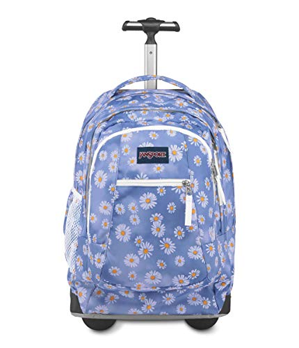 JanSport Driver 8 Rolling Backpack - Wheeled Travel Bag with 15-Inch Laptop Sleeve, Dazy Haze