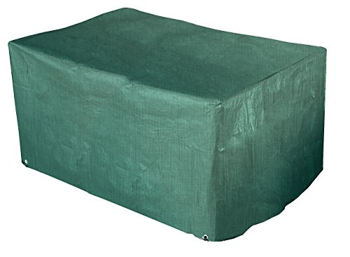Royal Gardineer Gartensofa Abdeckung: Gewebe-Abdeckplane 2er-Lounge-Gartensofa, 120 x 95 x 80 cm, 110 g/m² (Schutzhülle Gartensofa)