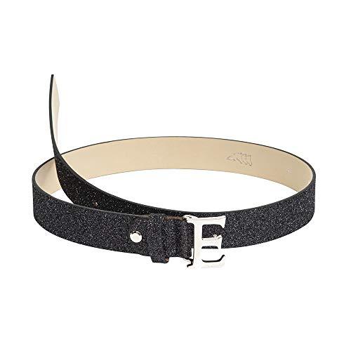 Equiline Damen Gürtel Glamour Farbe Pferdezubehör schwarz Lurex, Größe 100