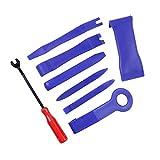 8/12pcs Auto Trim Removal Tool Set, herramientas automotrices incluyendo herramienta de palanca de plástico, para panel de puerta, panel de puerta de coche..