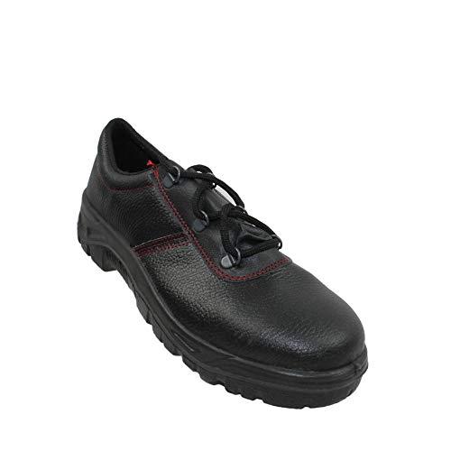 Zapatos de Seguridad PSH S1 Zapatos de Trekking Plana Negro B-Ware Trabajan, Tamaño:36 EU