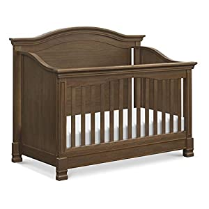 Million Dollar Baby Classic Louis 4-in-1 Convertible Crib in Mocha, Greenguard Gold Certified