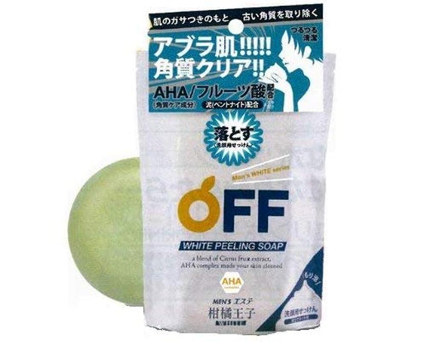 キャンペーン早熟小間柑橘王子 Wピーリングソープ 【10点セット】