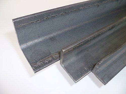 B&T Metall Stahl Winkel 40x40x4 mm in Längen à 2000 mm +0/-3 mm S235 (1.0038 ST37)