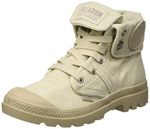 Palladium Damen Pallabrousse Baggy Hohe Sneaker, Grau (Rainy Day/String K82), 39 EU