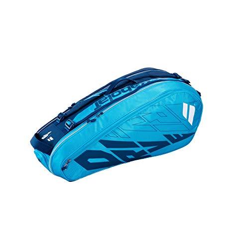 バボラ (Babolat) RACKET HOLDER 6 (テニス用ラケットバッグ 6本収納) PURE DRIVE (ピュアドライブ) ブルー 75×32×32cm 751208