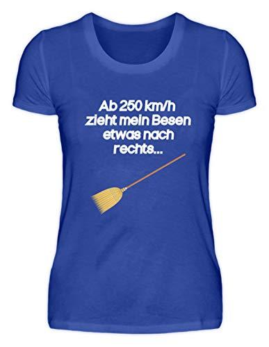 Generieke hoogwaardige damesshirt - vanaf 250 km/u trekt mijn bezem iets nas rechts heks - eenvoudig en grappig design