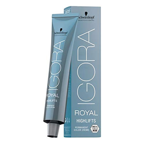 Schwarzkopf Professional Haarpflege Haarfarbe/ Coloration IGORA Royal Highlifts Nr. 12-19 Spezialblond Cendré violett, 60 ml