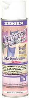 Zenex Neutrazen Fresh Linen Natural Scent Odor Neutralizer - 12 Cans (Case)