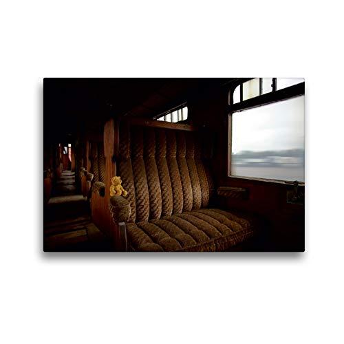 CALVENDO Premium Textil-Leinwand 45 x 30 cm Quer-Format Im Orient Express, Leinwanddruck von Oliver Buchmann