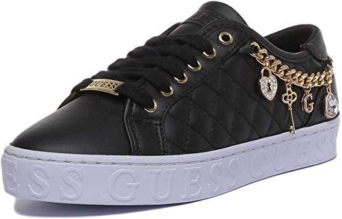Guess Damen Sneaker Graselin FL6GRLFAB12 schwarz 678271