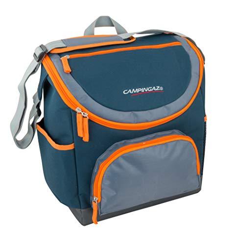Campingaz Messenger Tropic Koeltas, 20 liter, isolatietas met draagriem, koelt tot 16 uur, opvouwbare isoletas voor winkelen, camping of als picknicktas