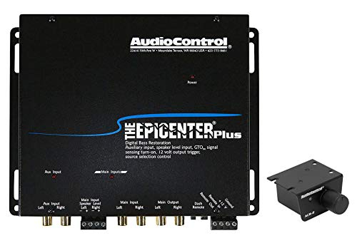 AudioControl The Epicenter Plus Black Bass Restoration Processor with OEM Interface