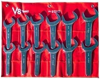 V8 Tools (V8T9212) 12 Piece Jumbo SAE Service Wrench Set